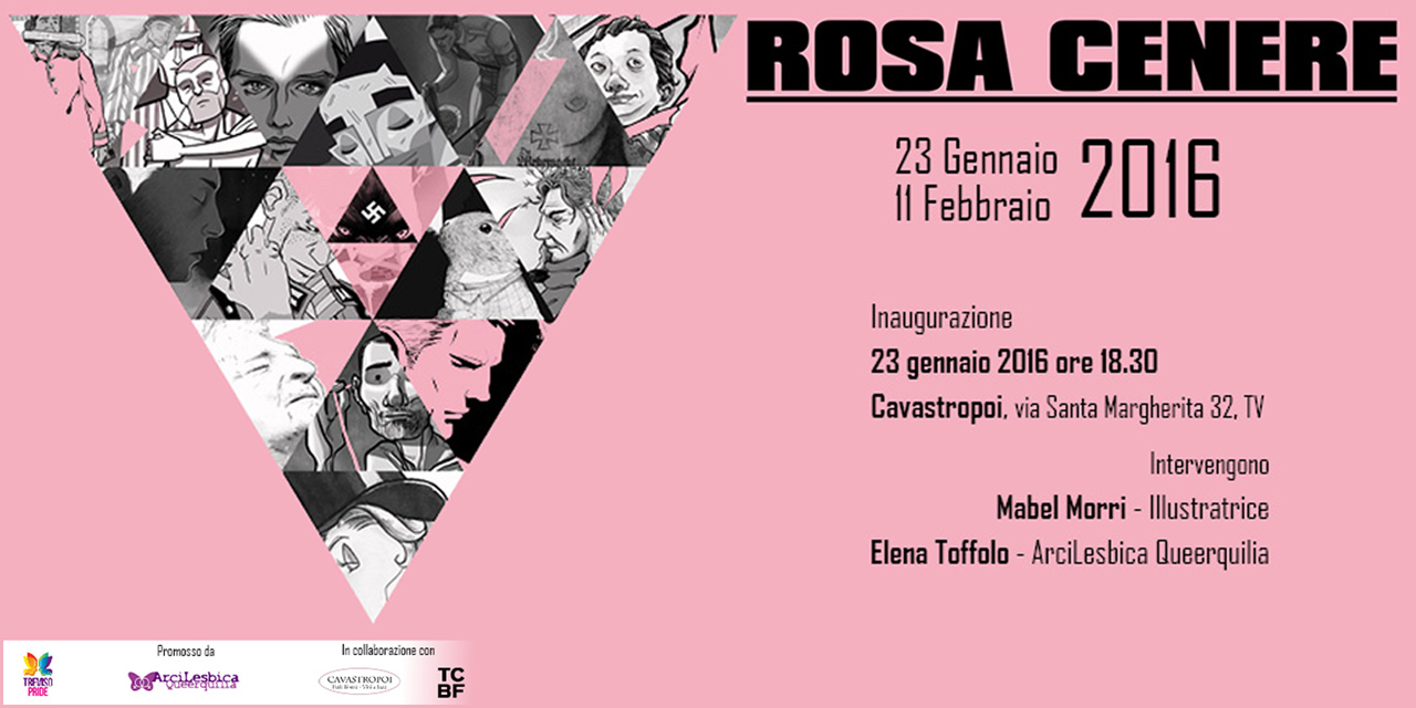 """""""Rosa Cenere"""": per ricordare l'Omocausto"""