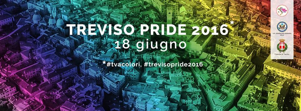 la Parata del TrevisoPride2016 - banner