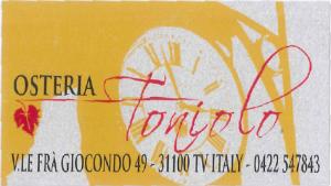 Osteria Toniolo Treviso